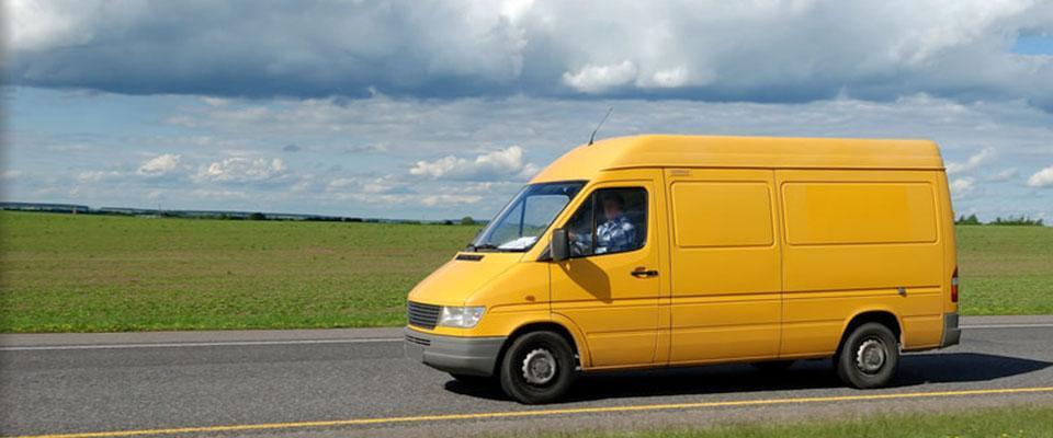 Żółta ciężarówka